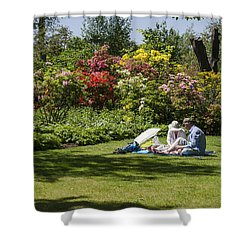 Summer Picnic Shower Curtain