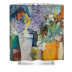 Picture Puzzle Shower Curtain