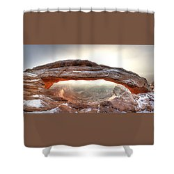Shower Curtain featuring the photograph Picture Window by David Andersen