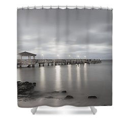 Pier II Shower Curtain