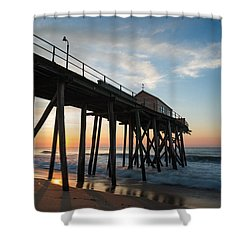 Pier Side Shower Curtain