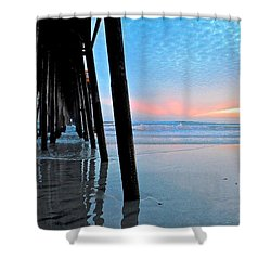 Pier Under Shower Curtain