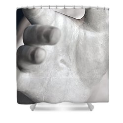 Pierced Shower Curtain