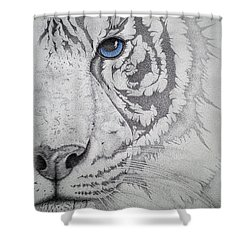 Piercing II Shower Curtain