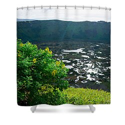 Piercing Sunlight Shower Curtain