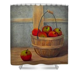 Pies Anyone Shower Curtain