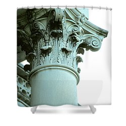 Pilar Of Strength  Shower Curtain by Jon Neidert