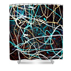Pilgimage Of Lights 2 Shower Curtain