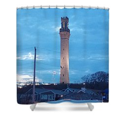 Pilgrim Tower Shower Curtain