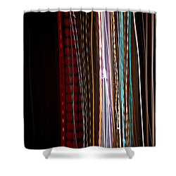 Pilgrimage Of Lights 1 Shower Curtain