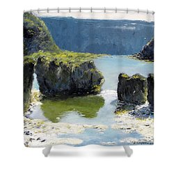 Pillar Falls Shower Curtain