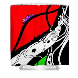 Pillar Of Hope Shower Curtain