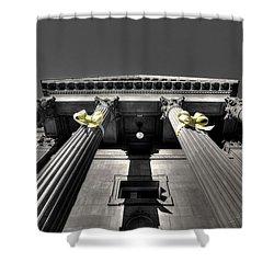 Shower Curtain featuring the photograph Pillard by David Andersen