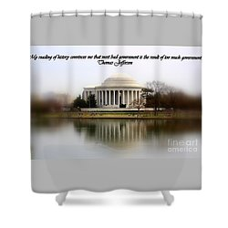 Pillars Of Strength Shower Curtain