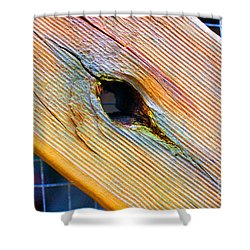 Shower Curtain featuring the photograph Pine by Cassandra Buckley