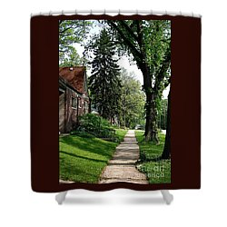 Pine Road Shower Curtain