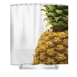 Pineapple Shower Curtain by Darren Greenwood