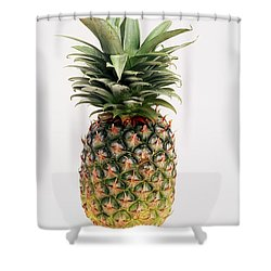 Pineapple Shower Curtain by Ron Nickel
