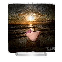 Pink Dreams Shower Curtain by Stelios Kleanthous
