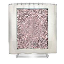 Pink Invitation  Shower Curtain by Oksana Semenchenko