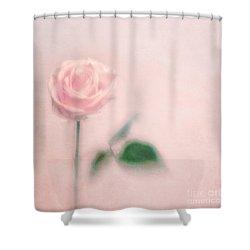 pink moments II Shower Curtain by Priska Wettstein