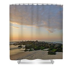Pink Morning 2 Shower Curtain