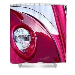 Shower Curtain featuring the photograph Pink Passion by Linda Bianic