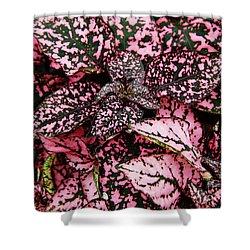 Pink - Plant - Petals Shower Curtain