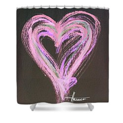 Pink Rules Shower Curtain