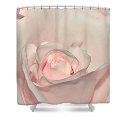 Pink Satin Shower Curtain