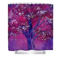 Pink Spring Awakening Shower Curtain