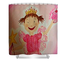 Pinkalicious Shower Curtain