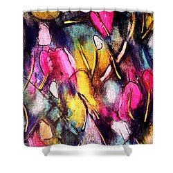 Pinktulips 2 Shower Curtain