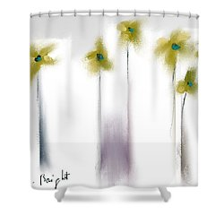 Shower Curtain featuring the photograph Pinned by Frank Bright