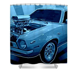 Pinto Return Shower Curtain