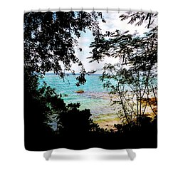 Shower Curtain featuring the photograph Picturesque by Amar Sheow