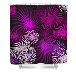 Pinwheel Fun Shower Curtain