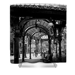 Pioneer Square Pergola Shower Curtain by David Patterson