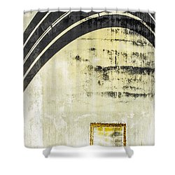 Piped Abstract 4 Shower Curtain by Carolyn Marshall