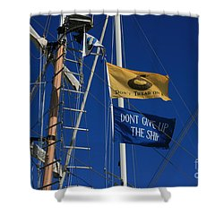 Pirate Rigging Shower Curtain