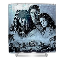 Pirates Shower Curtain