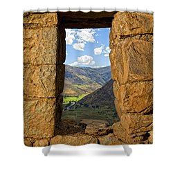 Pisac Ruins Shower Curtain