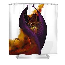 Pit Fiend Shower Curtain