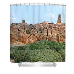 Pitigliano Panorama Shower Curtain