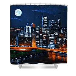 Pittsburgh  Sold Shower Curtain