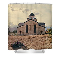 Place Of Worship Shower Curtain by Laurie Search