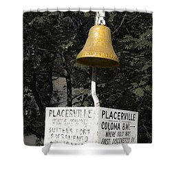 Placerville Bell Shower Curtain