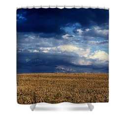 Shower Curtain featuring the photograph Plain Sky by Rodney Lee Williams