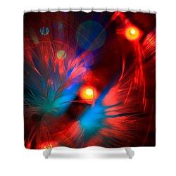Planet Caravan Shower Curtain