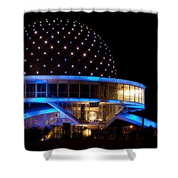 Shower Curtain featuring the photograph Planetarium by Silvia Bruno